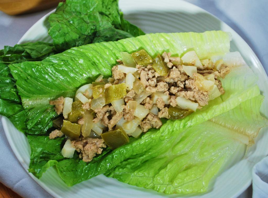 Asian Turkey Lettuce Wraps Iris And Honey